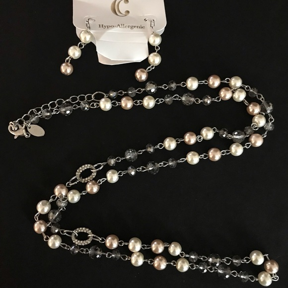 Charming Charlie Jewelry - Multi color pearl necklace